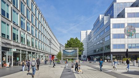 Novartis moves to White City Place